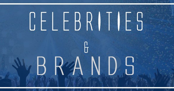 BANNER NEWSLETTER CELEBRITIES AND BRANDS