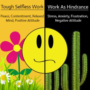 Tough selfless work