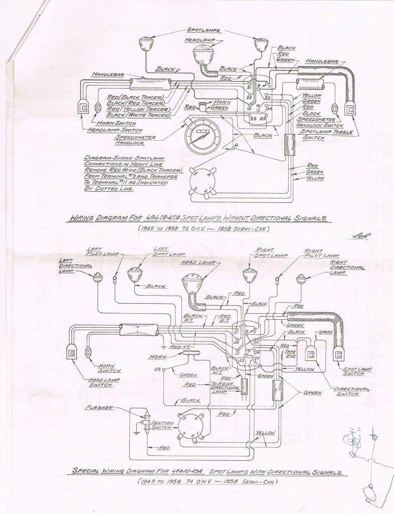wiring diagram car spotlights