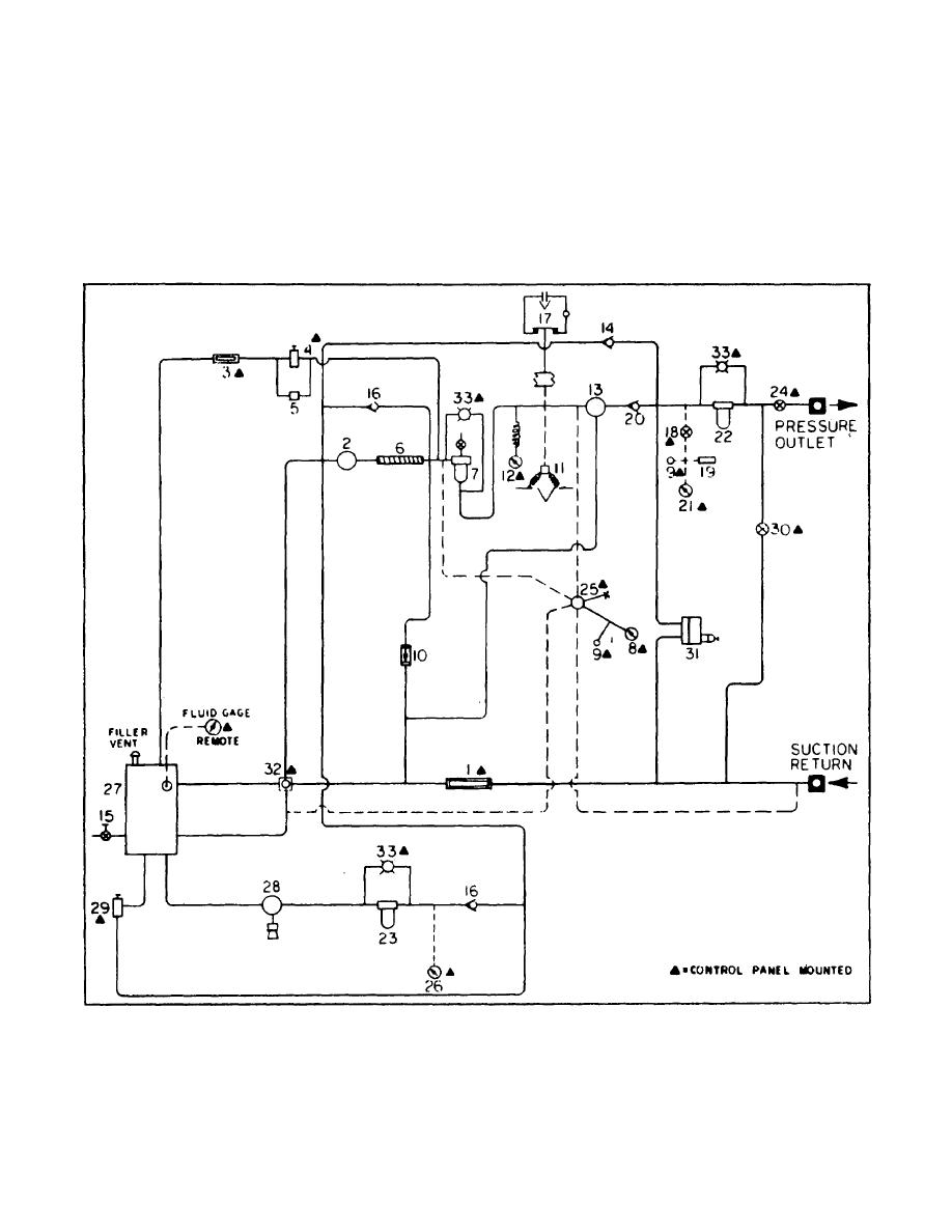 hydraulic press schematic