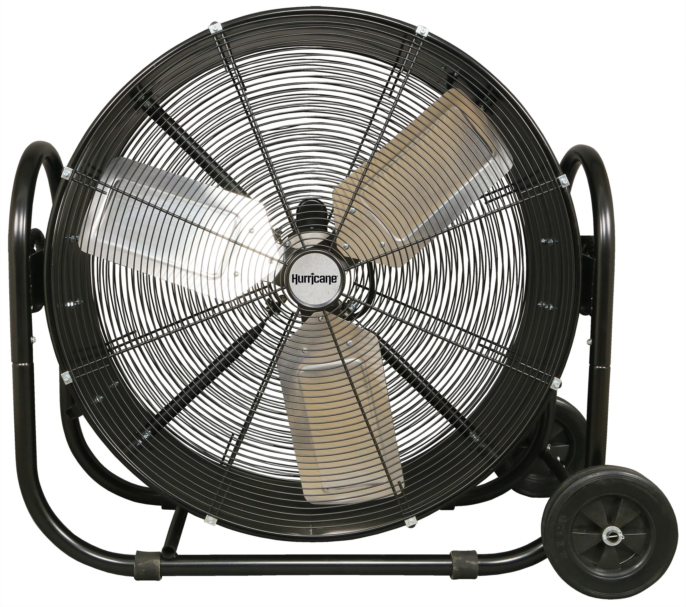 Garage Workshop Fan Hurricane Pro Heavy Duty Adjustable Tilt Drum Fan 30 In