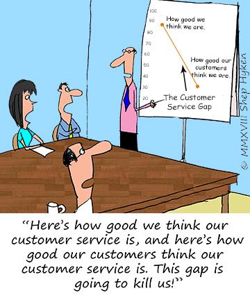 The Customer Service Gap - Shep Hyken