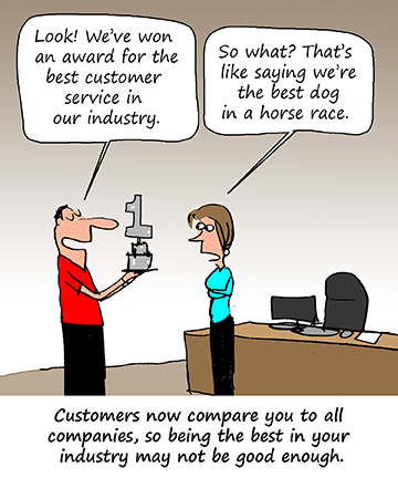 Are You Keeping Up with Your Customers? - Shep Hyken Shep Hyken