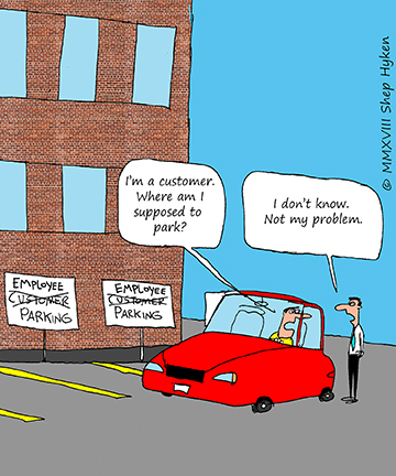 The Difference Between Customer Focus and\u2026 NOT - Shep Hyken