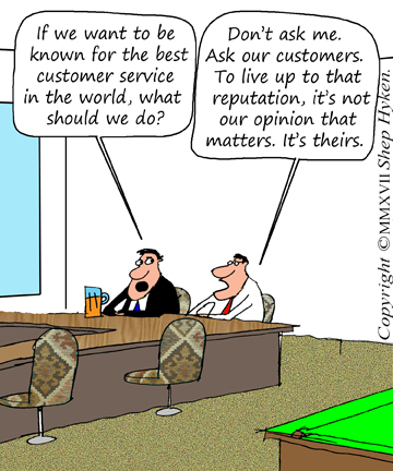 Who Owns Customer Service? - Shep Hyken