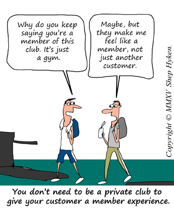 A Membership Experience Is a Powerful Customer Service Strategy