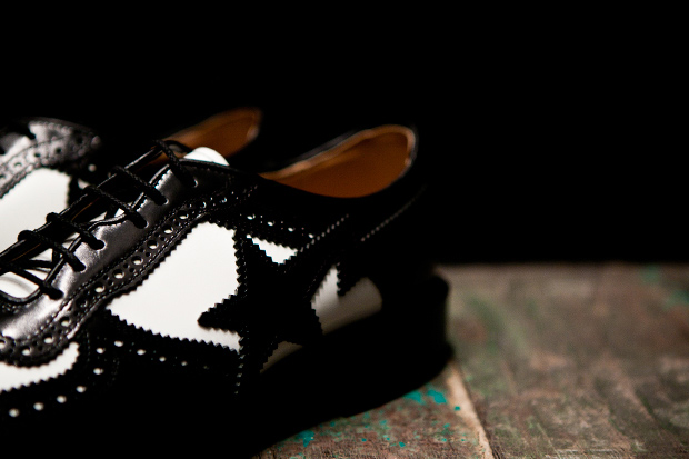 "Image of Mr. Bathing Ape x Regal ""STA"" Brogues"