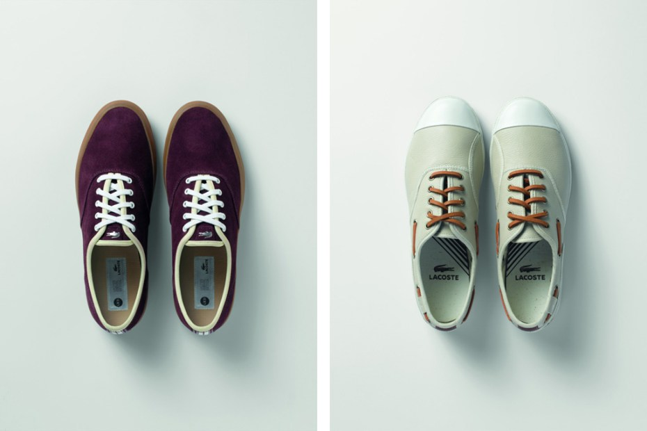Image of Lacoste 2012 Spring LED Footwear Collection