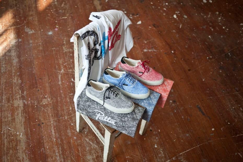 Image of Patta x Staedtler x Warrior Footwear Plimsoll Club Pack