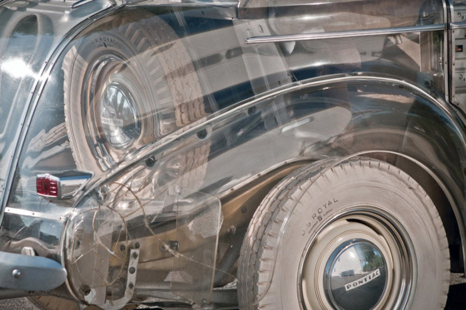 "Image of 1939 Pontiac Deluxe Six ""Ghost Car"""