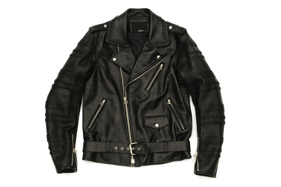 Image of 3.1 Phillip Lim Hand Braided Sleeve Motorcycle Jacket