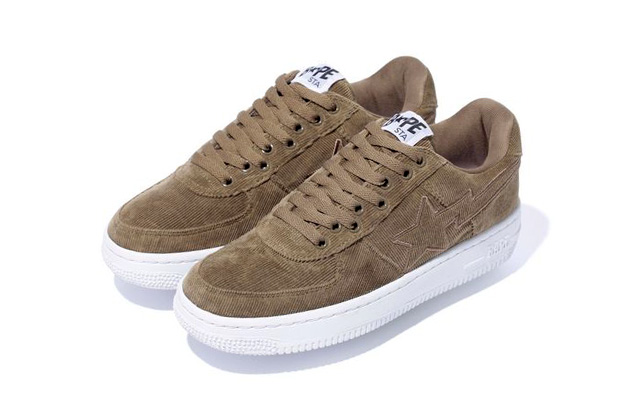 Image of A Bathing Ape CORDUROY BAPE STA