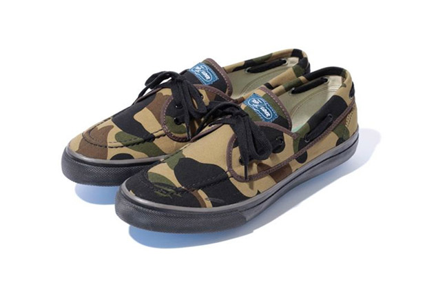 Image of A Bathing Ape x Sperry Top-Sider Seamate