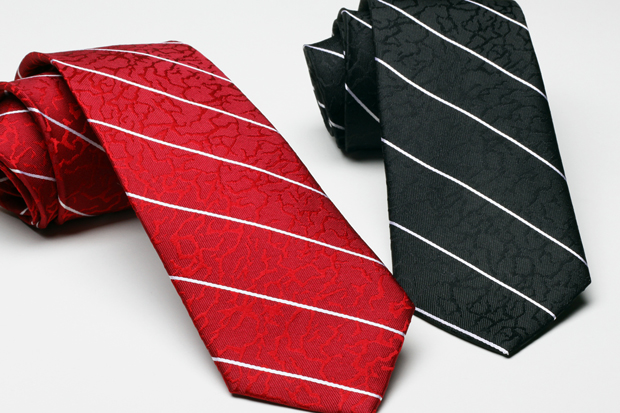 Image of Acapulco Gold Regimental Stripe Crackle Ties