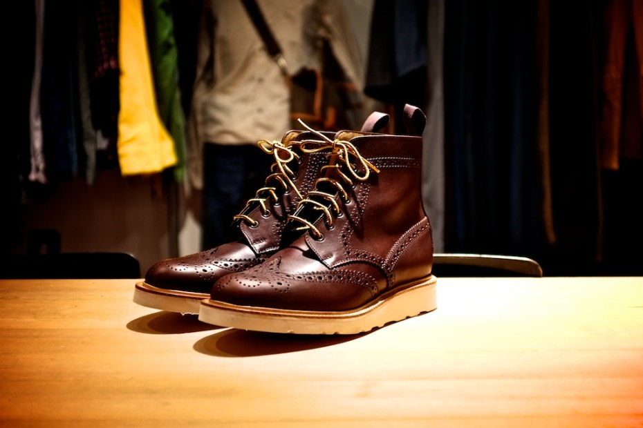 Image of ACL & Co. x Mark McNairy Brogue Boots