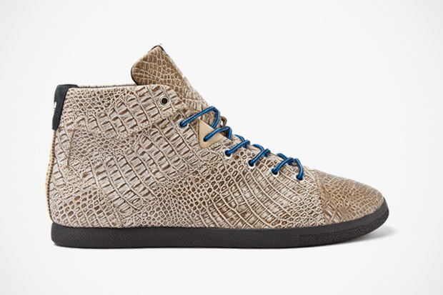 "Image of adidas Originals Azzi Mid ""Croc"""