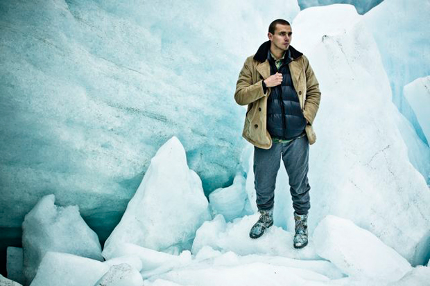"Image of Ransom x adidas Originals 2011 Fall/Winter The Crest ""Glacier"""