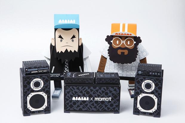 Image of AIAIAI X MOMOT Paper Toys