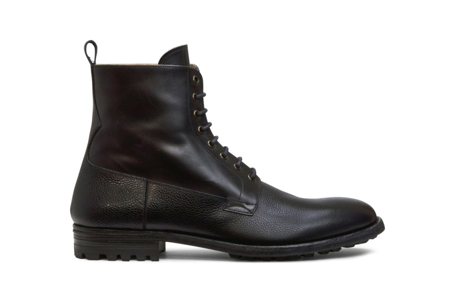 Image of Alexander McQueen Two-Tone Leather Boots