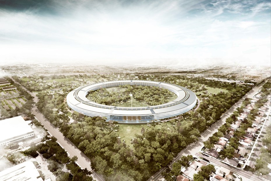 Image of Apple Campus in Cupertino by Foster + Partners