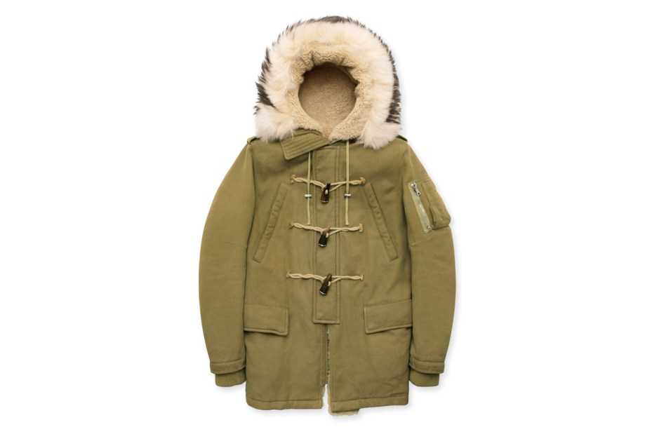 Image of Balmain Duffle Coat