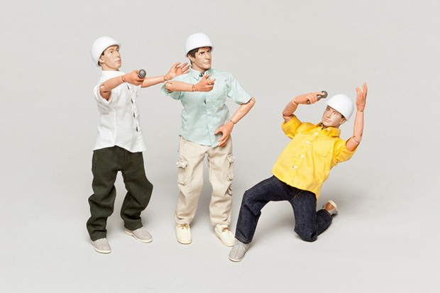Image of Beastie Boys Action Figure Set