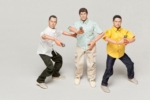 Image of Beastie Boys Action Figure Set