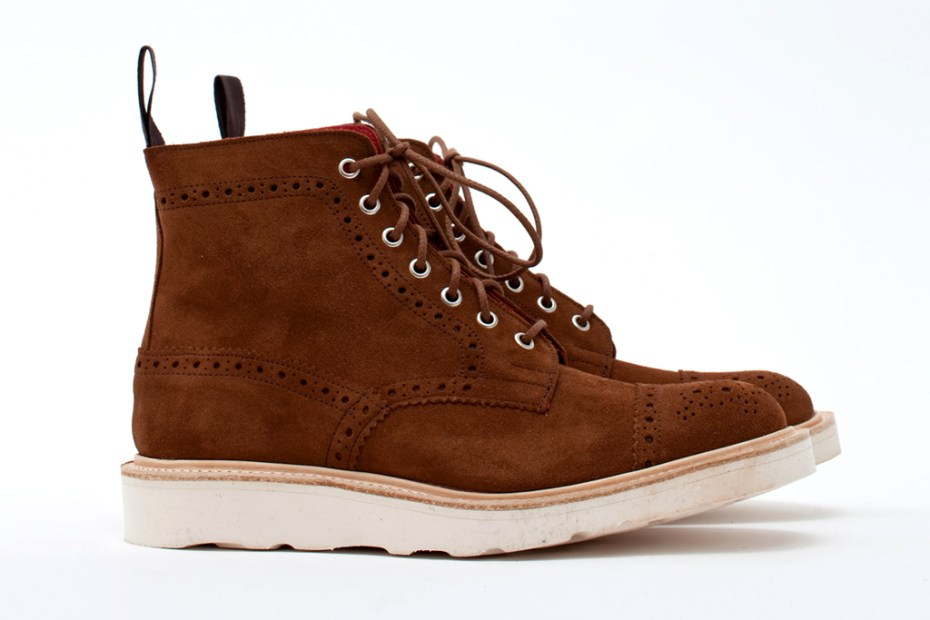 Image of COMME des GARCONS JUNYA WANTANABE MAN x Tricker's Super Boot