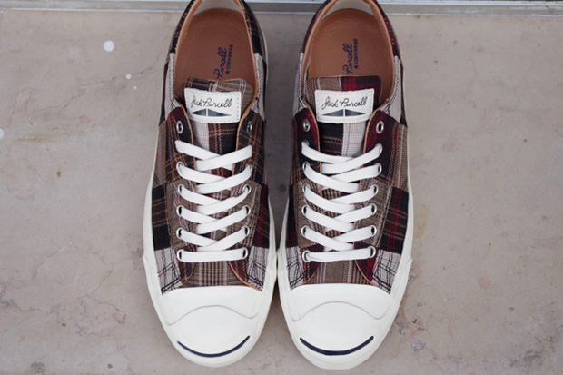 Image of Converse Jack Purcell &quot;Patchwork&quot; France Exclusive
