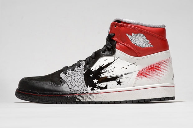 """Image of Dave White """"WINGS for the Future"""" Air Jordan I"""