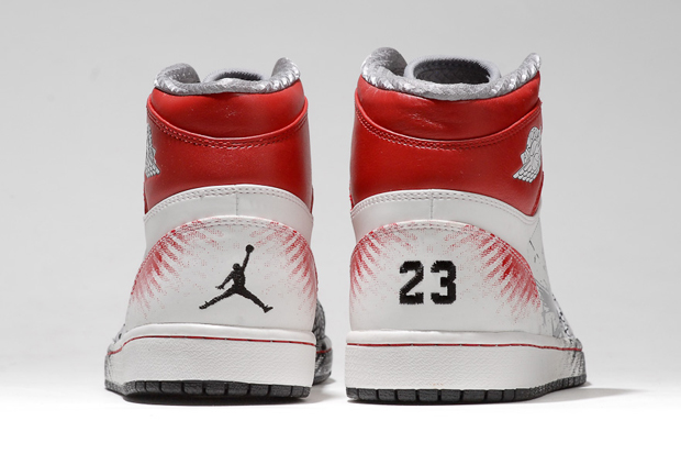 "Image of Dave White ""WINGS for the Future"" Air Jordan I"