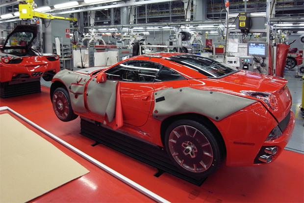Image of designboom: Ferrari Factory Tour - Assembly Line
