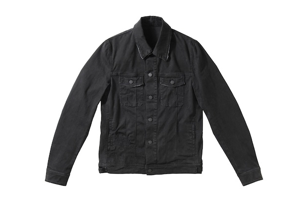 Image of Dior Homme Blackberry Bush Denim Jacket