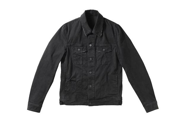 Image of Dior Homme Blackberry Bush Denim Jacket