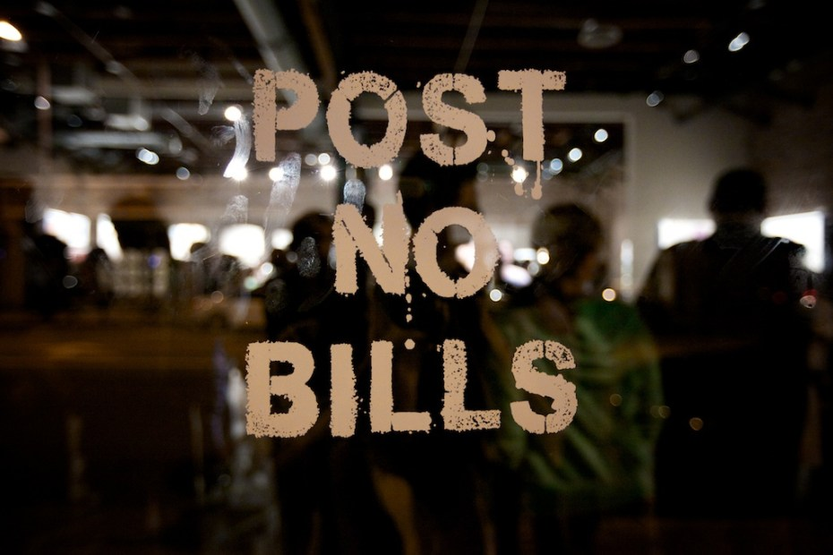 Image of The European Bailout Show @ POST NO BILLS Recap