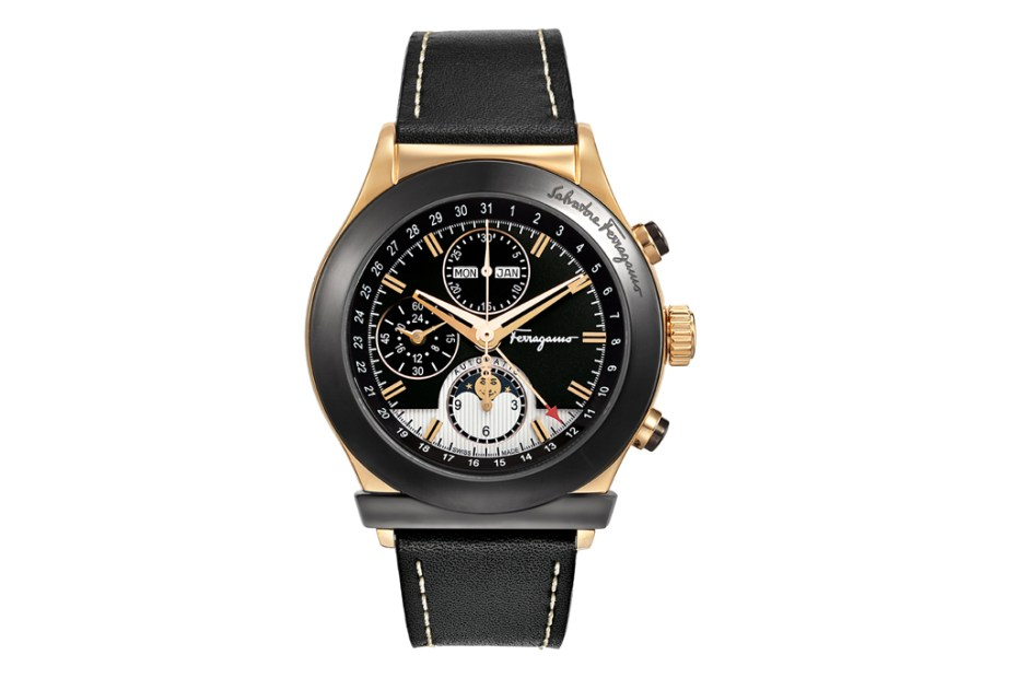 Image of Ferragamo 1898 Moonphase Chronograph