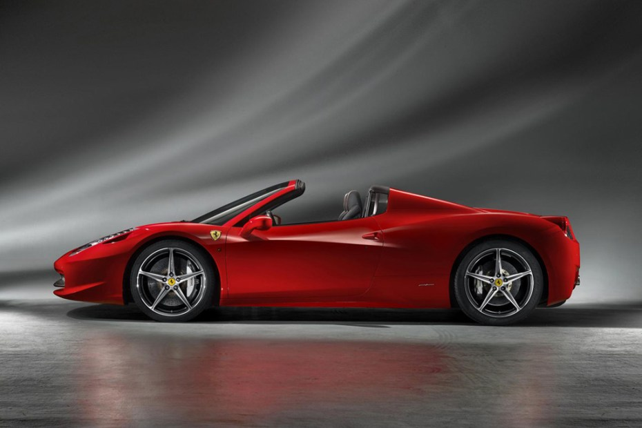 Image of Ferrari 458 Spider