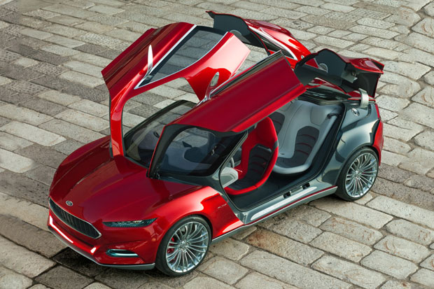 Image of Ford EVOS Concept Car