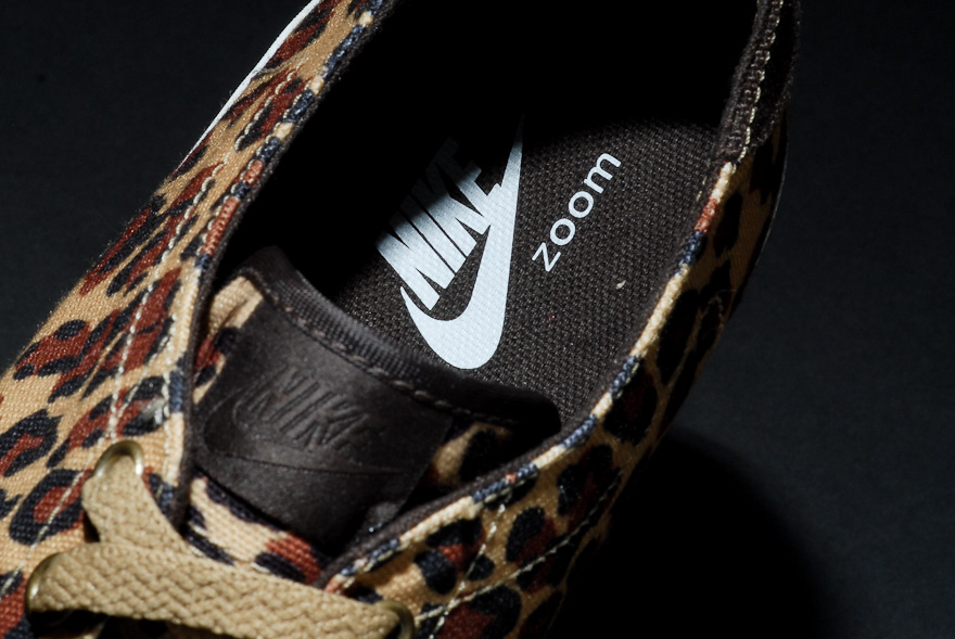"Image of fragment design x Nike Sportswear Zoom All Court 2 Low ""Leopard"" Further Look"