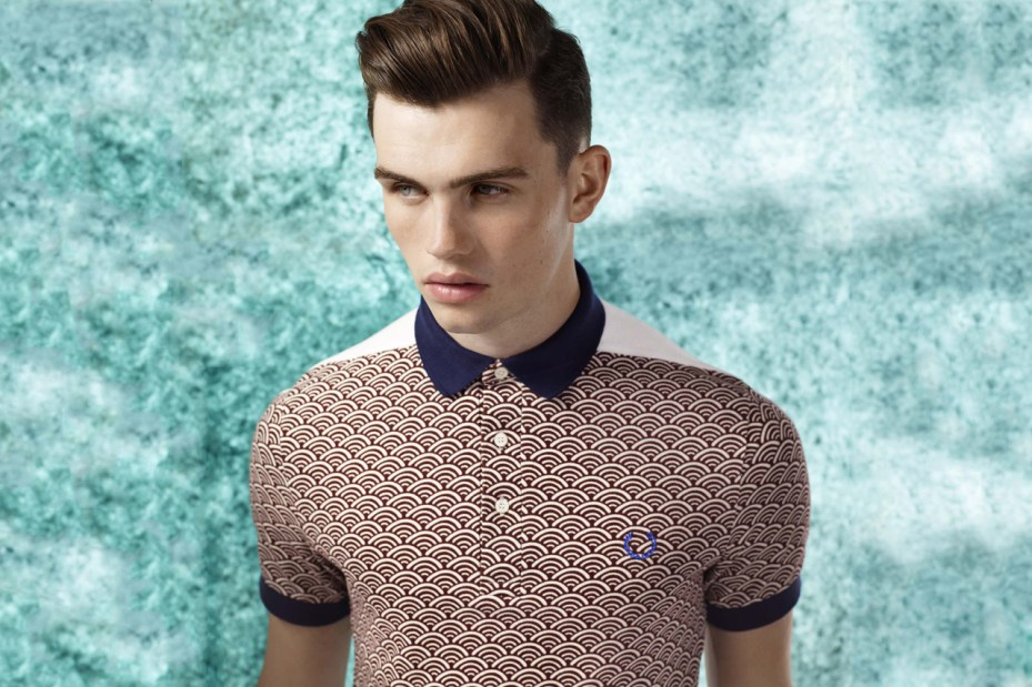 Image of Fred Perry 2011 Fall/Winter Origami Blank Canvas Collection