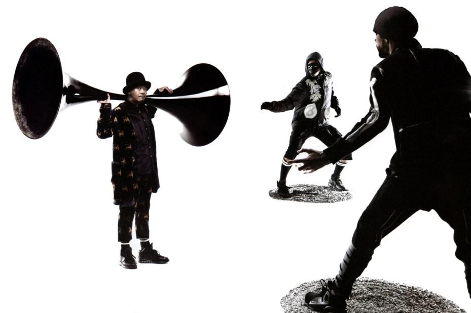 "Image of GRIND Magazine: SASQUATCHfabrix. 2011 Fall/Winter ""Modern Ninja"" Collection"