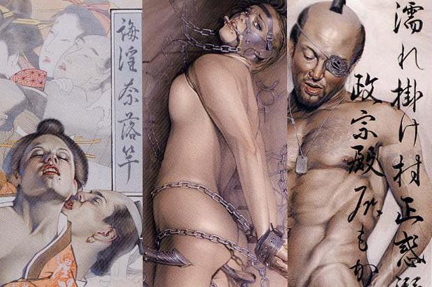 """Image of Hajime Sorayama """"Neo Japonism & Obsession"""" Exhibition"""