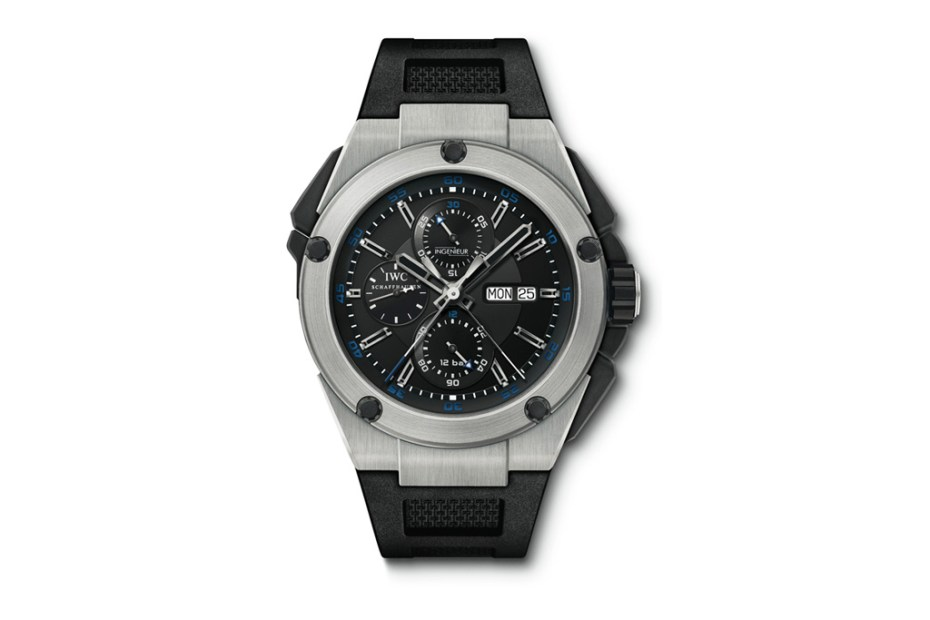 Image of IWC Ingenieur Double Chronograph Titanium Watch