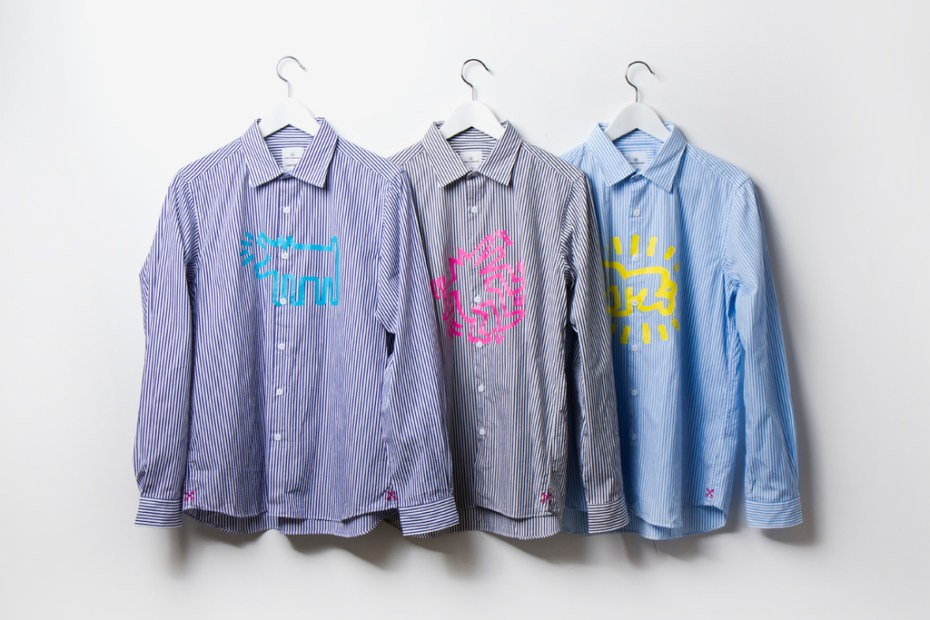 Image of Keith Haring x uniform experiment Dress Shirts