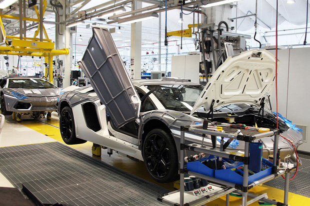 Image of WIRED: A Peek Inside the Lamborghini Factory