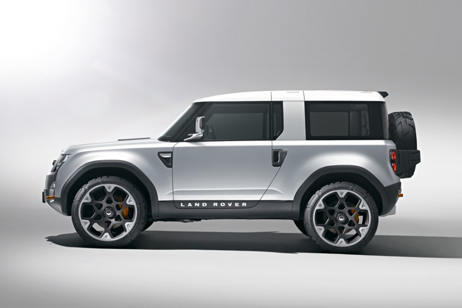 Image of Land Rover Defender DC100 Concept