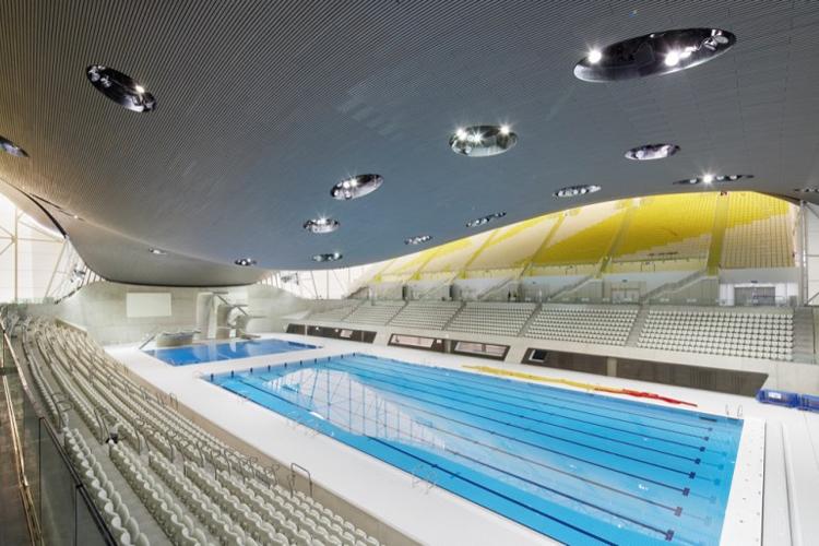Image of London Aquatics Centre by Zaha Hadid