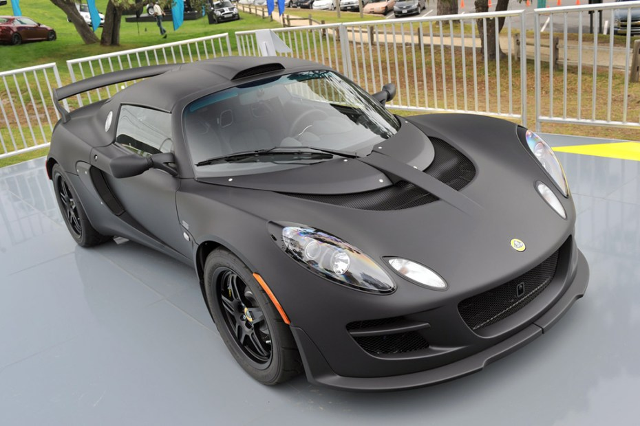 Image of Lotus Exige Matte Black Final Edition