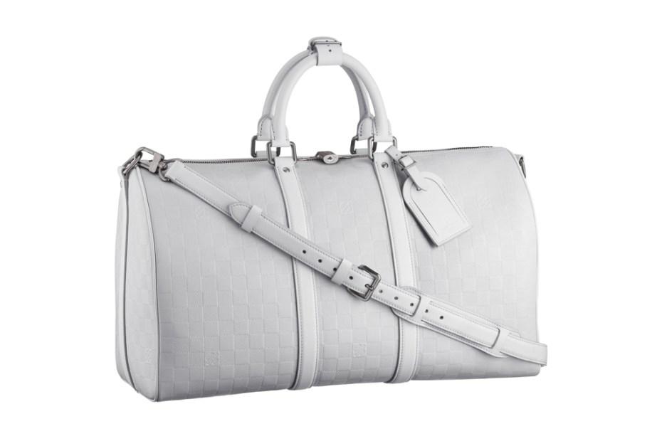 Image of Louis Vuitton Damier Infini Keepall 45 Duffel Bag