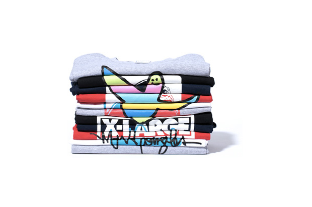 Image of Mark Gonzales x XLARGE Graphic T-Shirts